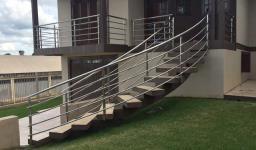 Corrimões para sacada e escada inox
